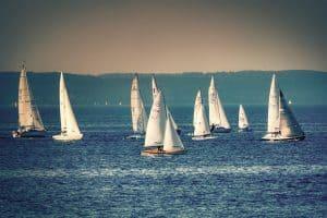 Jezioro Charzykowskie - idealne warunki żeglarskie