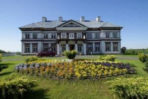 Pałac Lubomirskich w Strzyżowie - gmina Horodło