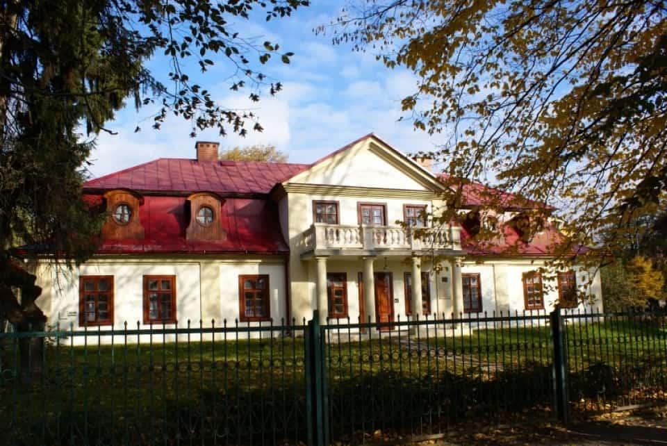 Birthplace of Bolesław Prus.