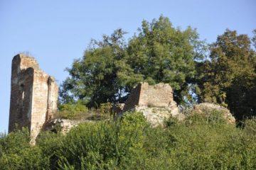 Zawieprzyce - ruiny zamku