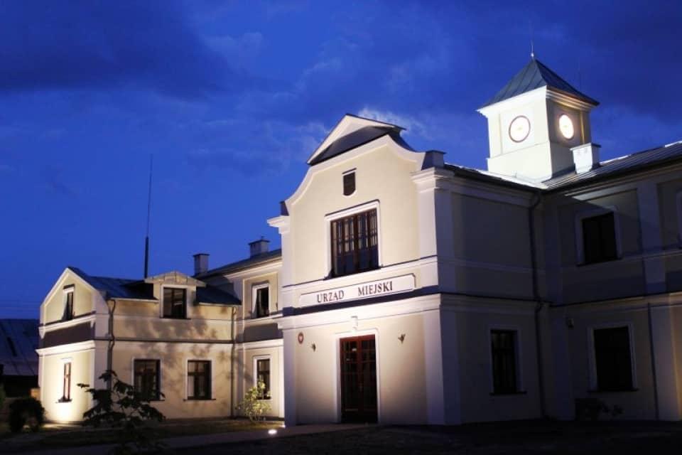 Łęczna - New town hall