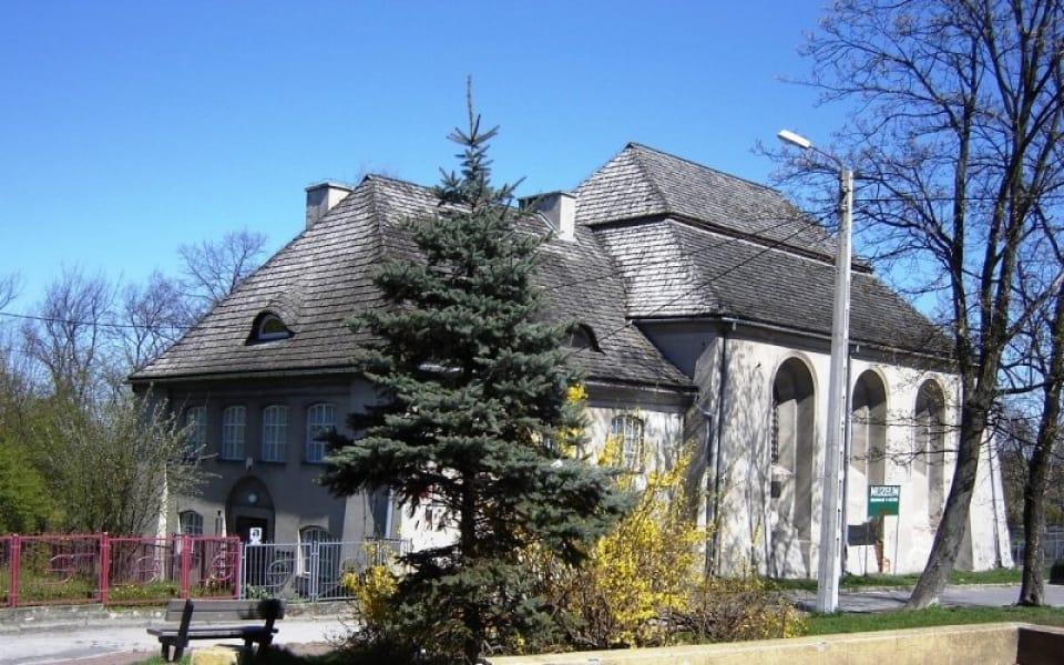 Łęczna - Synagoga Duża