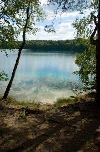 Jezioro Czyste, Fot: Szymic1, licencja CCBY 2.5