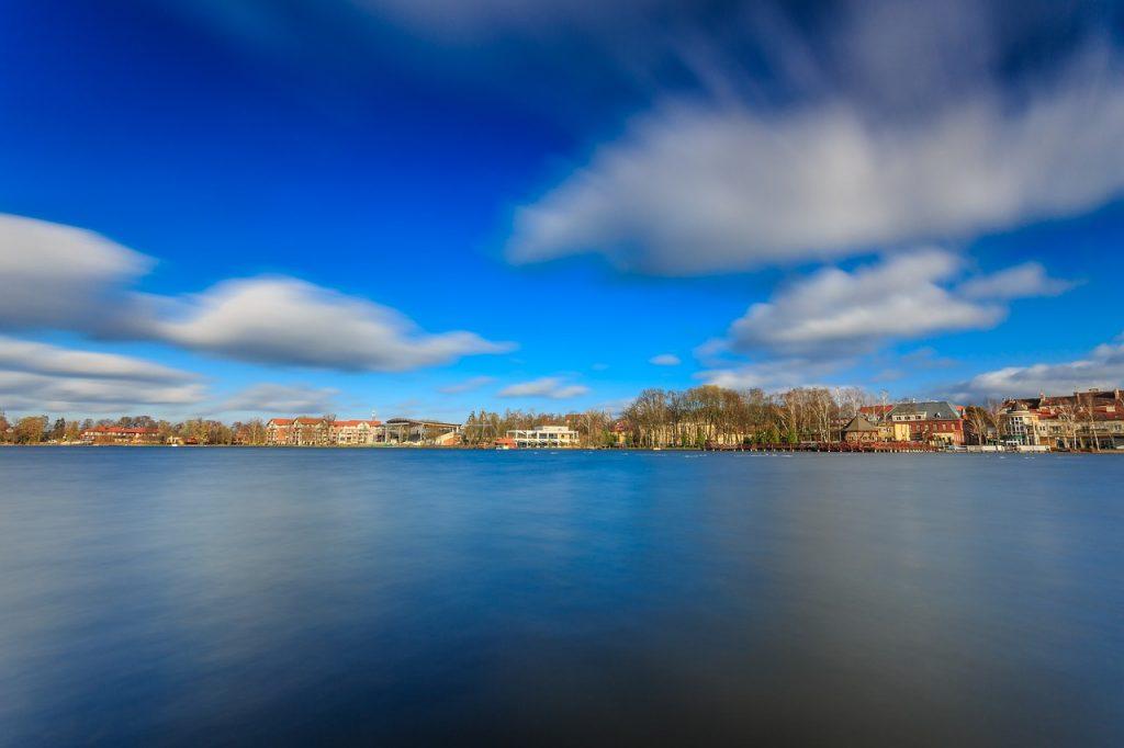 Der Drwęckie-See