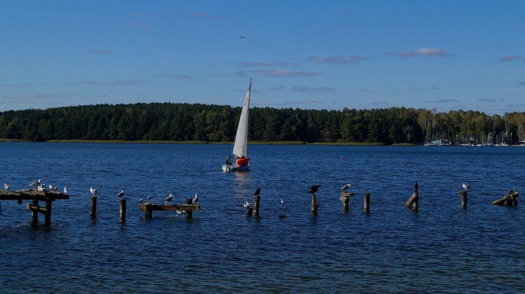 Ukiel Lake (Krzywe) in Olsztyn