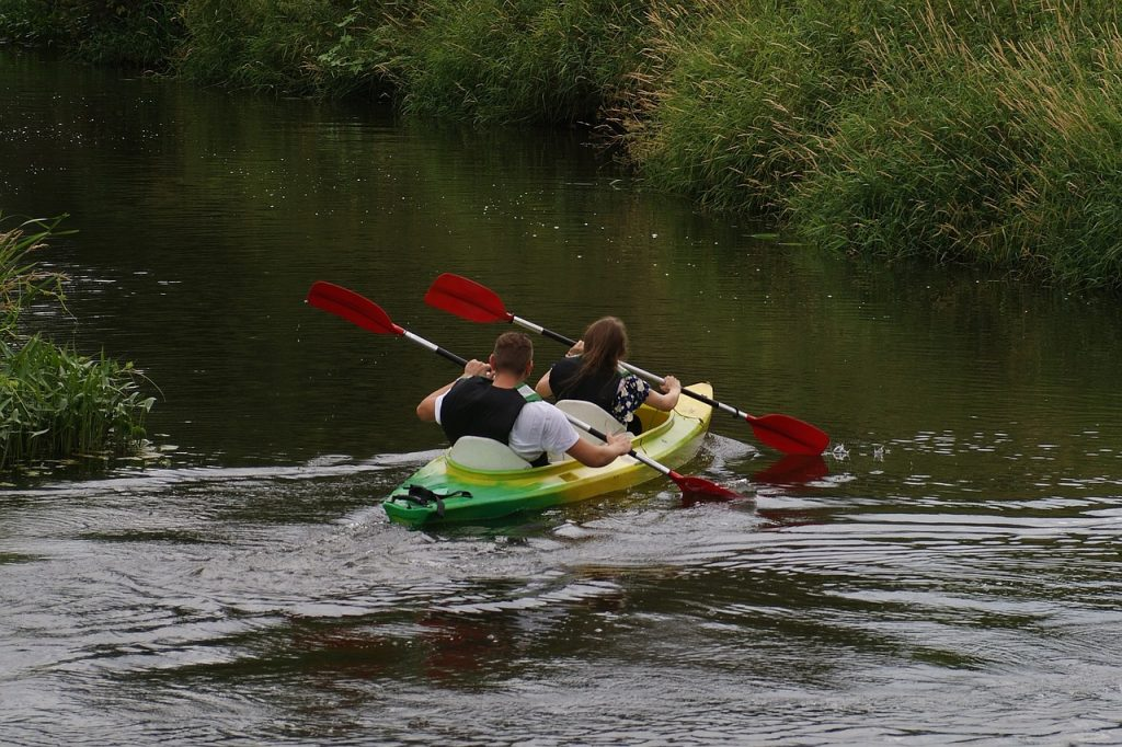 Kayaking on the lowlands
